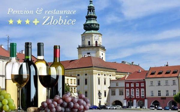Vinařský pobyt s polopenzí, degustací vín a bowlingem v Penzionu Zlobice ***+