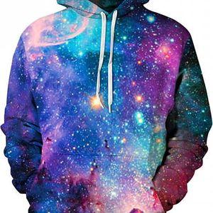 Stylová mikina s galaxií