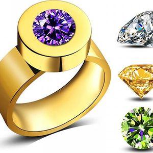 Dámský prsten s vyměnitelným krystalem