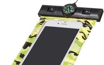 Vodotěsné pouzdro na mobil s kompasem - 3,5 - 6