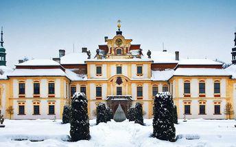 Romantický pobyt na zámku Jemniště s polopenzí