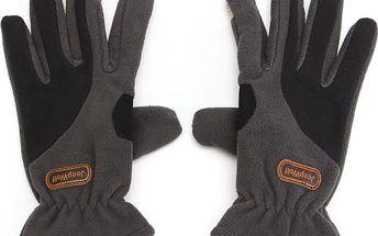 Fleecové zimní rukavice s ovládáním dotykových zařízení