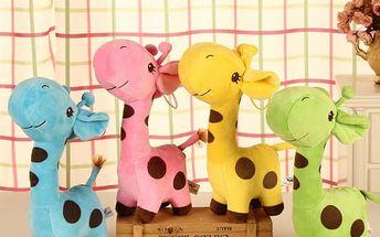 Plyšová žirafa - menší