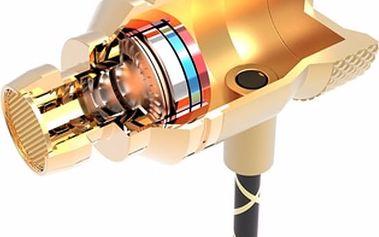 Designová špuntová HI-FI sluchátka s mikrofonem