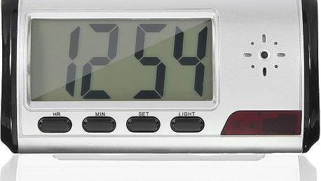 Digitální hodiny se skrytou kamerou