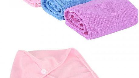 Dámský ručník na vlasy