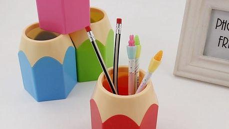 Stojánek ve tvaru tužky