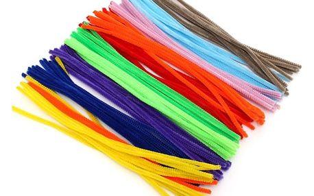 Flexibilní plyšové tyčinky pro výrobu hraček a ozdob - dodání do 2 dnů