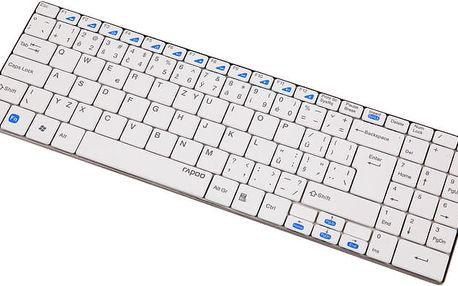 Rapoo E9070, bílá, CZ - 6943518912189