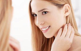 HIFUtherapy obličeje a krku včetně diamantové mikrodermabraze a aplikace kyseliny hyaluronové.