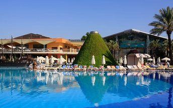 Turecko - Side na 8 až 9 dní, all inclusive s dopravou letecky z Prahy nebo Brna