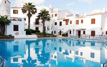 Španělsko - Menorca na 8 dní, bez stravy s dopravou letecky z Prahy