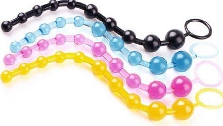 Anální kuličky Stacy, vyrobené z příjemného a flexibilního gelu