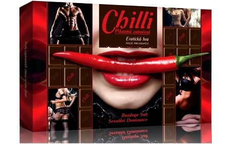 Pikantní erotická hra Chilli - okořeňte Vaše milostné hrátky