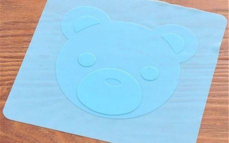 Flexibilní silikonové víko na potraviny - modrá barva - dodání do 2 dnů