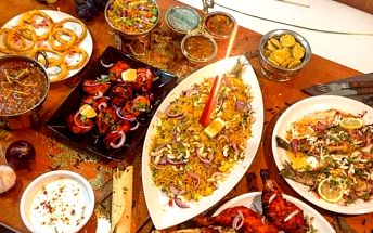 Konzumace v hodnotě 600 korun v indické restauraci Indian Happy Tandoor u metra C Kobylisy