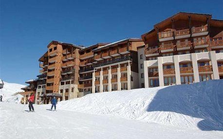 Silvestr na horách: Francie - La Plagne (Paradiski) na 8 dní, bez stravy s dopravou vlastní