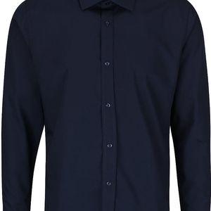 Tmavě modrá košile Bertoni Gustav