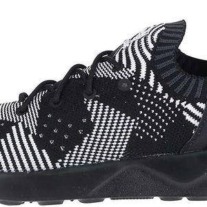 Bílo-černé dámské vzorované tenisky adidas Originals ZX Flux