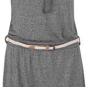Černé žíhané šaty Ragwear Chicka