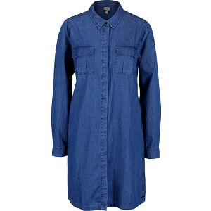 Tmavě modré denimové šaty Bench