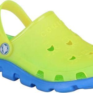 Coqui Dětské pantofle Fluo A5921 Lime 101093 27-28