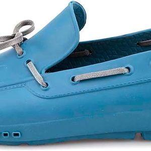 Modré pánské gumové mokasíny ALDO Parrilli