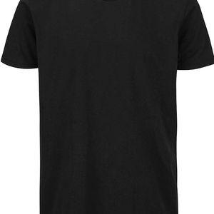 Černé triko s kulatým výstřihem Shine Original