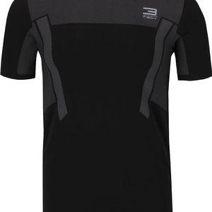 Černé sportovní triko se vzorem Jack & Jones
