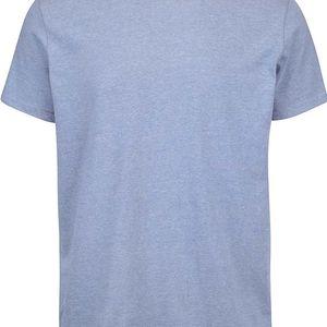 Šedomodré pánské triko s potiskem na zádech Nautica