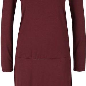 Vínové šaty YAYA