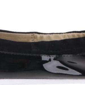 Černé lesklé balerínky do kabelky Butterfly Twists Robyn