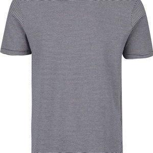 Modro-bílé pruhované triko Jack & Jones Jaquard