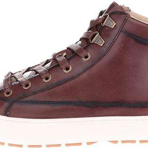 Hnědé pánské kožené kotníkové boty Pointer Soma