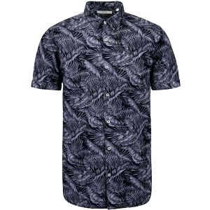Tmavě modrá vzorovaná košile Jack & Jones Tucker