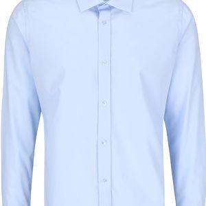 Světle modrá košile Bertoni Gustav