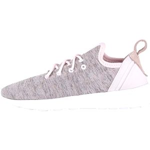Světle růžové žíhané dámské tenisky adidas Originals ZX Flux