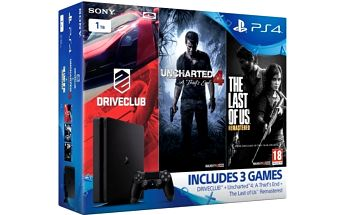 Herní konzole Sony SLIM 1TB Gamer pack (PS719806868) černá