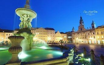 Jižní Čechy s lázněmi, masáží a polopenzí