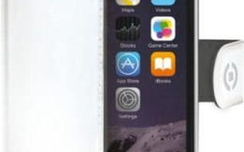Pouzdro na mobil flipové Celly pro Apple iPhone 6/6S (WALLY700WH) bílé