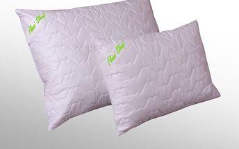 Saténový polštář s kuličkami a latexem FLEXI SLEEP