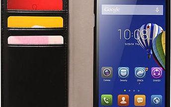 Pouzdro na mobil flipové Lenovo pro A536 (LEN-FCA536-D) černé