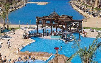 SUNNY DAYS EL PALACIO, Egypt, Hurghada, 8 dní, Letecky, All inclusive, Alespoň 3 ★★★, sleva 2 %, bonus (Levné parkování u letiště: 8 dní 499,- | 12 dní 749,- | 16 dní 899,- )