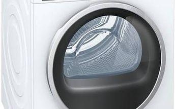 Sušička prádla Siemens WT48Y7W3 bílá Žehlička Siemens TB60XTRM (zdarma) + Doprava zdarma