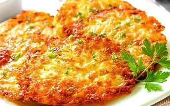 Půl nebo kilo domácích bramboráčků v restauraci Švejk + 2 nebo 4 piva Gambrinus.