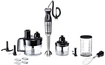 Ponorný mixér Bosch MaxoMixx MSM88190 černý/nerez
