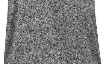 Černé žíhané šaty Ragwear Janet