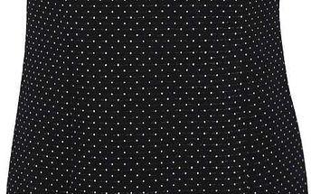 Černé puntíkované šaty s.Oliver