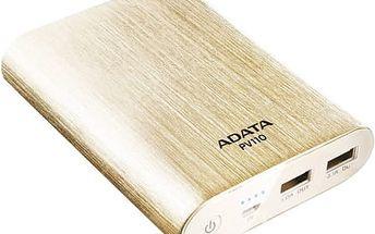 A-Data PV110 10400 mAh (APV110-10400M-5V-CGD) zlatá