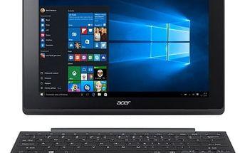 """Acer Dotykový tablet Aspire Switch 10 E (SW3-016-11AC) 10.1"""", 32 GB, WF, BT, Win 10 + dock - černý/bílý"""